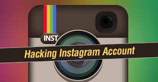 Information about online hacking of an Instagram account